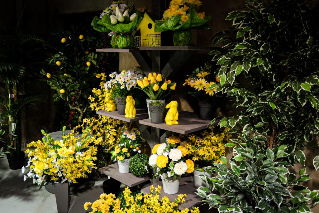 Merchandising - plantes artificielles