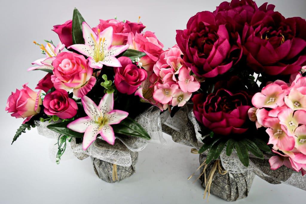 Bouquet rouge et rose