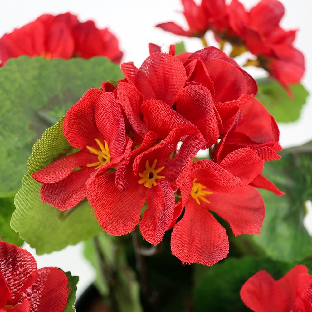 Plante artificielle rouge
